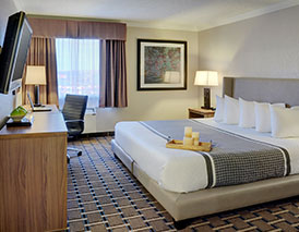 Grand Prairie at Stonebridge Hotel offers all types of rooms to suit your budget
