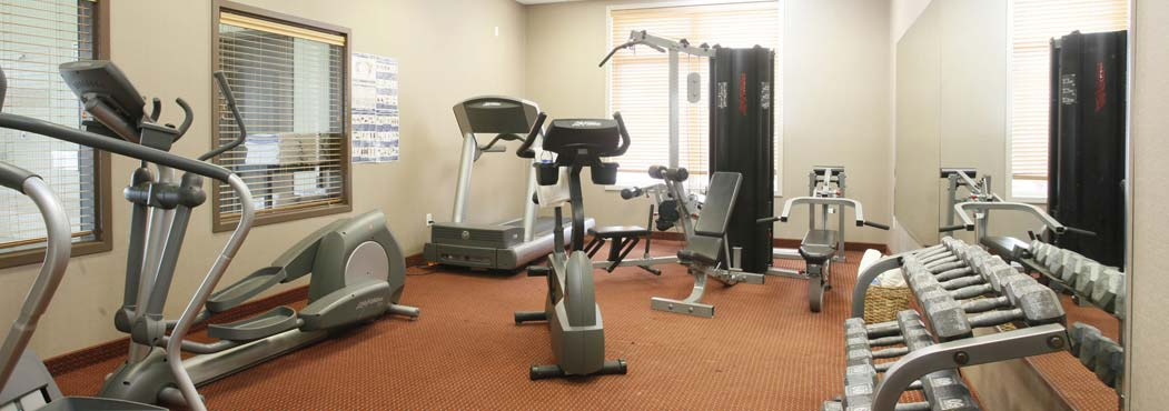 Stonebridge in Dawson Creek indoor fitness center with the latest equipment