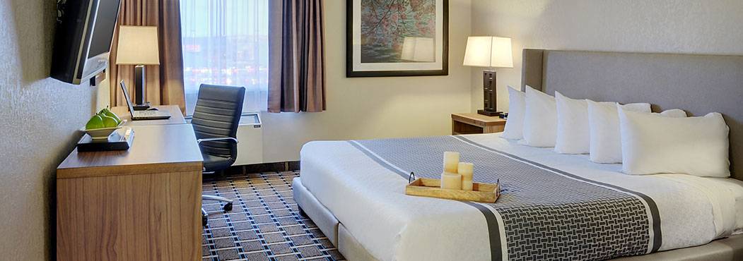 Pomeroy Inn & Suites Fort St. John offers spacious, modern, plenty of amenities
